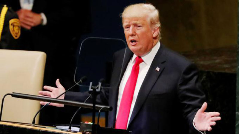 US President Donald Trump, addressing the 73rd UN security Council Meeting.