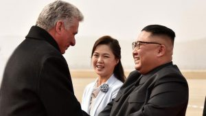 Marshal Kim Jong-Un Received Cuban President Miguel Diaz-Canel in Pyongyang