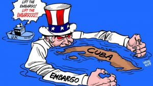 United Nations Voted to Lift the US Blockade Against Cuba.