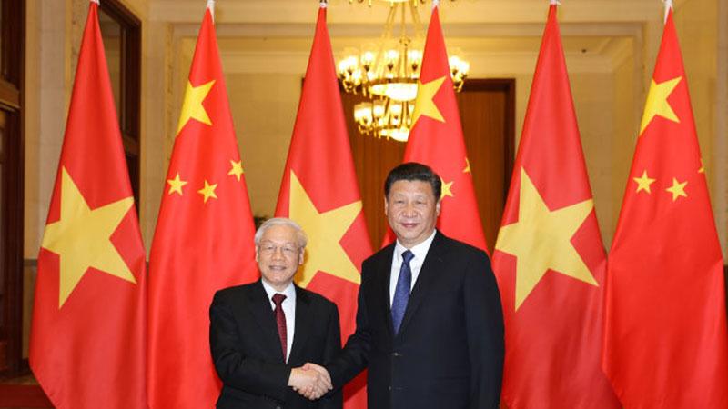 Xi Jinping Nguyen Phu Trong