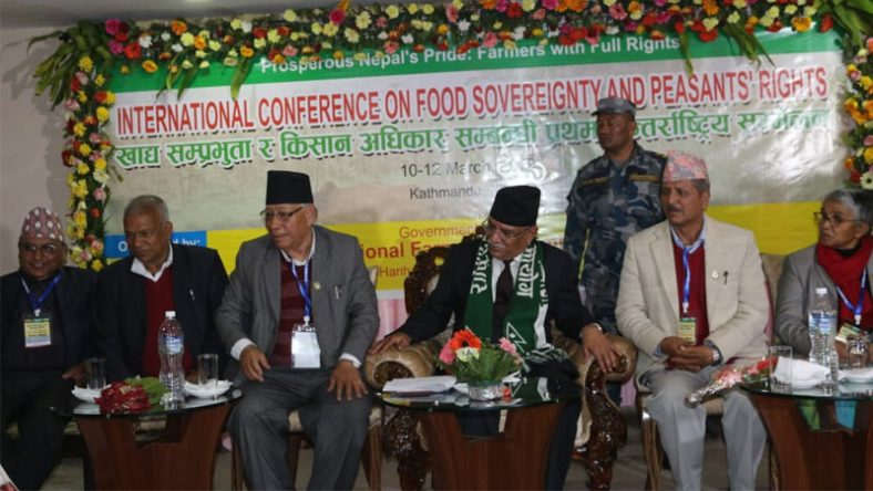 International Conference on food sovereignty concludes with 16-point Kathmandu Declaration