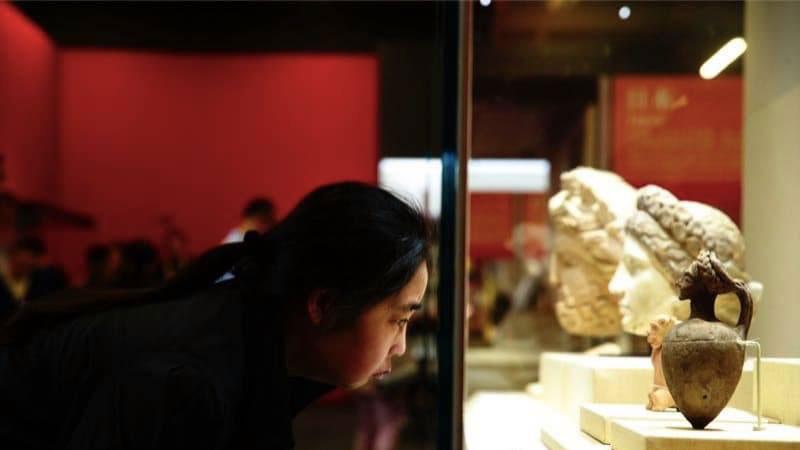 Asian civilizations exhibition