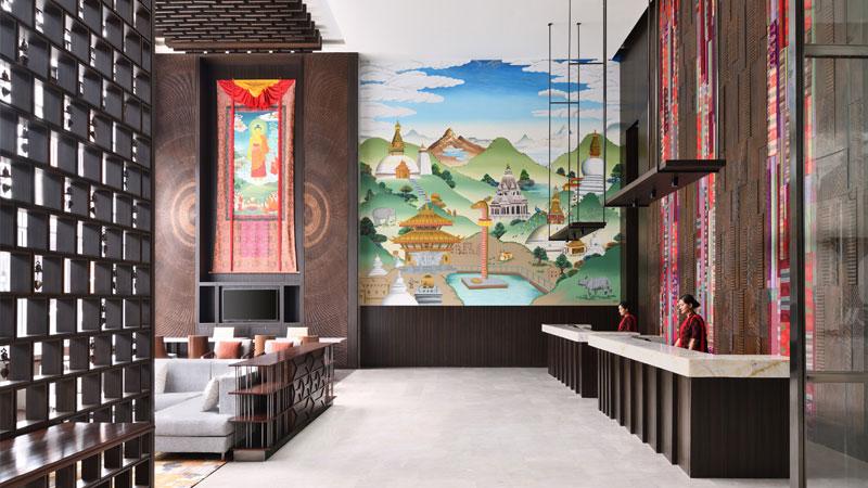 Kathmandu Marriott Hotel launch in Nepal