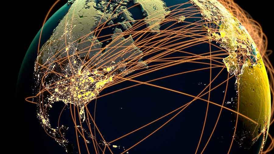 symbolic representation of Globalisation