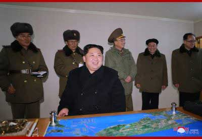Kim Jong Un Guides Test-fire of ICBM Hwasong-15