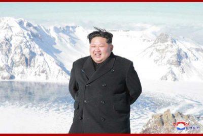 Kim Jong Un Climbs Mount Paektu