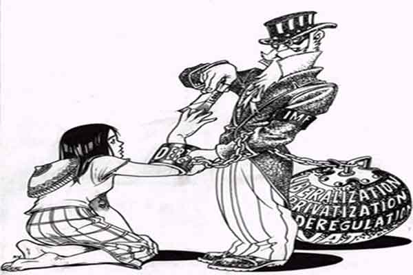 नवउदारवाद, ऋण र उत्पीडित राष्ट्रहरु