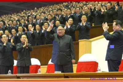 Kim Jong Un Inspects State Academy of Sciences