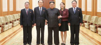 Kim Jong Un Meets DPRK High-Level Delegation