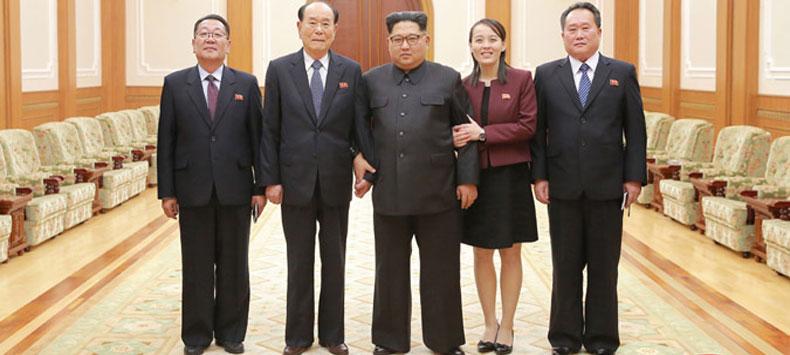 Kim Jong Un Meets DPRK High-Level Delegation