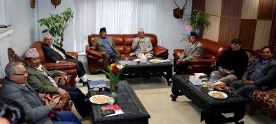 नेकपा (माओवादी केन्द्र) र नेकपा (एमाले) बीच पार्टी एकताकाे ऐतिहासिक सहमति