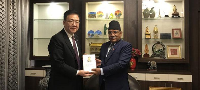 चिनियाँ उपमन्त्री र प्रचण्ड भेटघाटपछि नेपाली राजनीति नयाँ माेडमा
