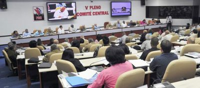 The Fifth Plenum of the Cuban Communist Party held.