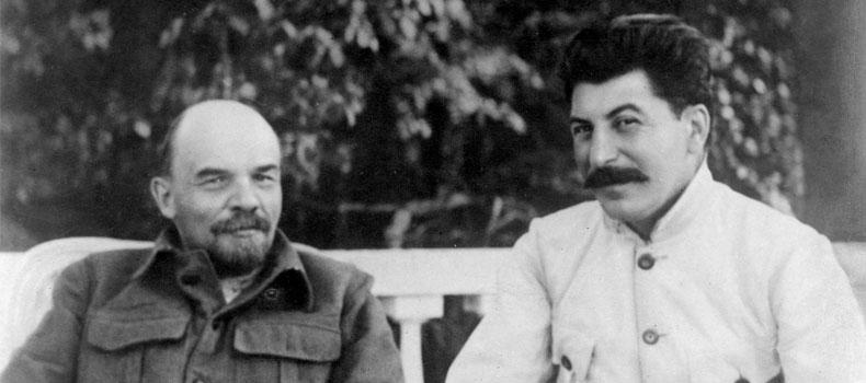क. लेनिन, अाफ्ना सहयाेद्धा क. स्टालिनका साथमा, Vi Lenin with Joseph Stalin