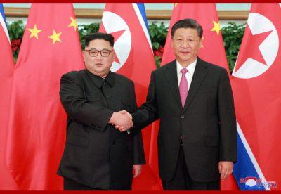 Marshal Kim Jong Un Meets President Xi Jinping Again
