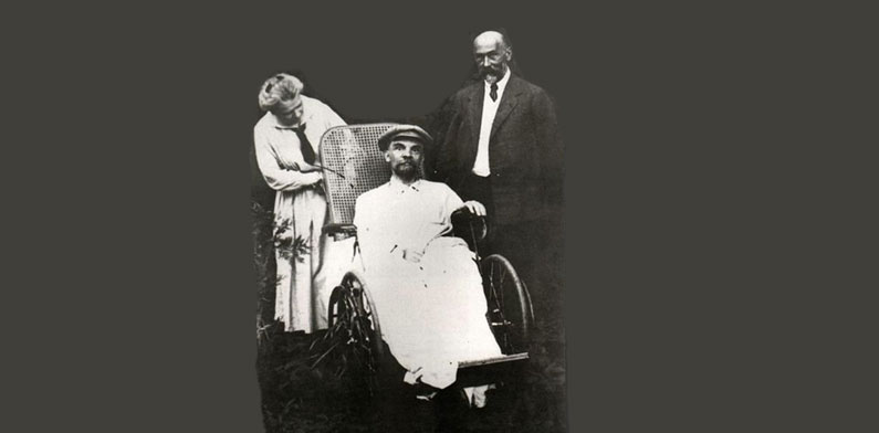 Vladimir Ilyich Lenin (VI Lenin) getting recovered.