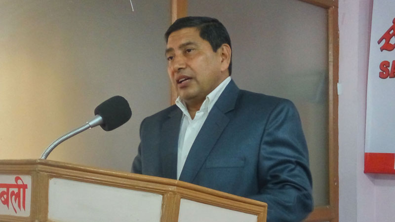 Narayan Kaji Shrestha, Speaker and Standing Committee Member of Communist Party of Nepal (NCP)