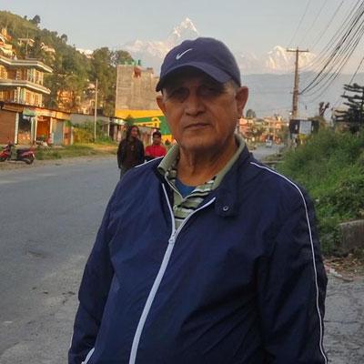Ram Raj Regmi, politician and economist.