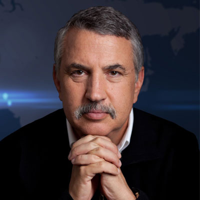 Thomas L. Friedman, author of The world is Flat and many more books.
