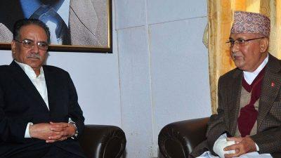 अध्यक्ष प्रचण्डबाट प्रधानमन्त्रीको स्वास्थ्य स्थिति बारे जानकारी