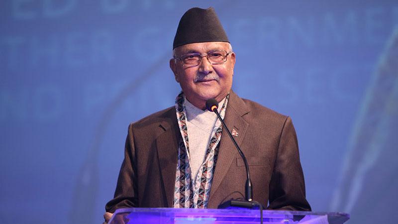 Prime Minister KP Sharma Oli