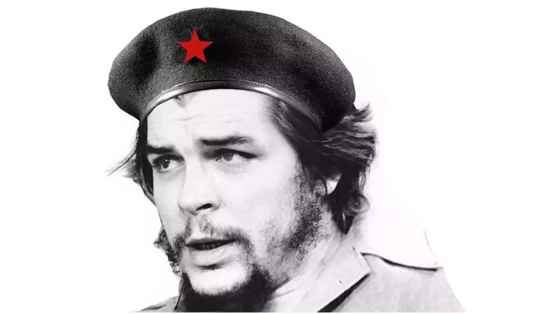 Ernesto Che Guevara, a Revolutionary born in Argentina, liberated Cuba and died at Bolivia.