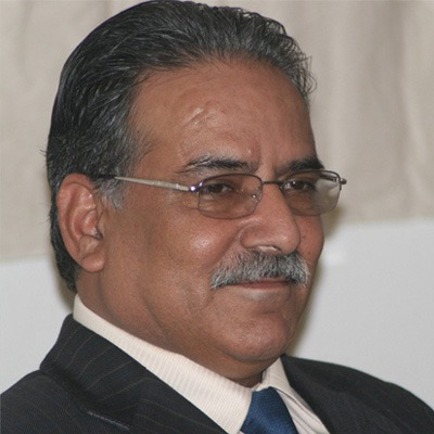 Comrade Prachanda, Chairmanm of the Communist Party of Nepal (NCP) and former Prime minister of Nepal and Supreme Commander of the ten years Peoples' war in Nepal.