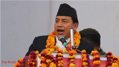 समृद्ध नेपाल निर्माणको प्रमुख आधार कृषि, पर्यटन र उर्जाः उपराष्ट्रपति पासाङ