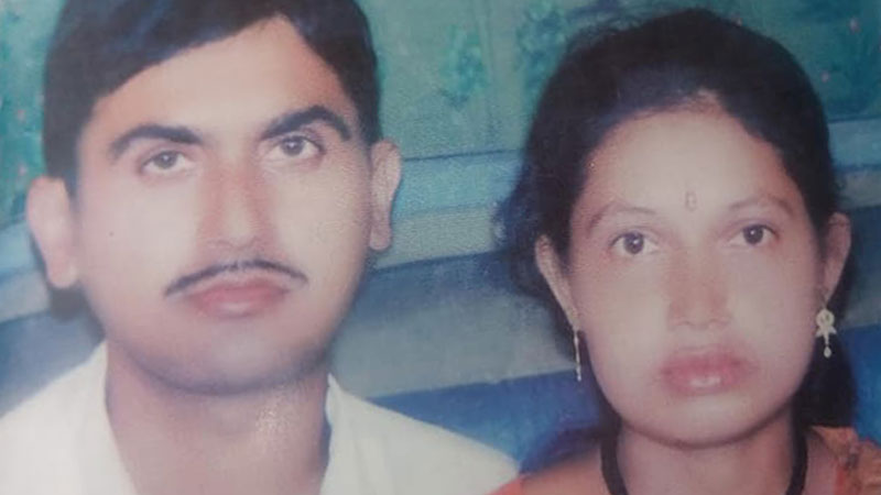 Rajendra Dhakal and Bimala Dhakal