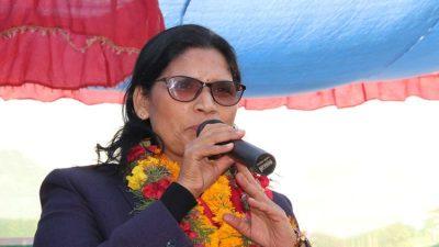 महिला आन्दोलनमा नतिजा दिन महिलाहरु आर्थिक रूपमा सबल बन्नैपर्छ – मन्त्री अर्याल