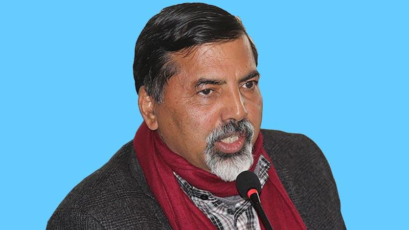 Janardan Sharma Prabhakar, Standing Committee Member of Communist Party of Nepal (CPN), Member of the parliament from Rukum