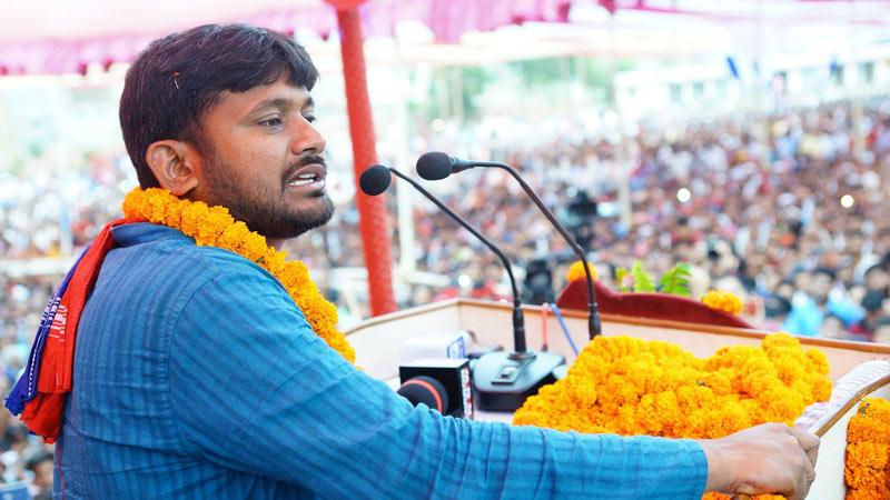 Kanhaiya Kumar Being popular all over India