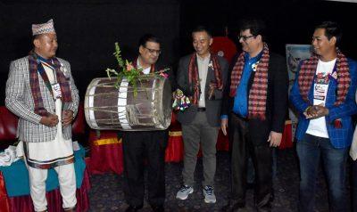 सभामुखद्वारा लिम्बू भाषाको चलचित्र 'के साङ्ला'को अवलोकन