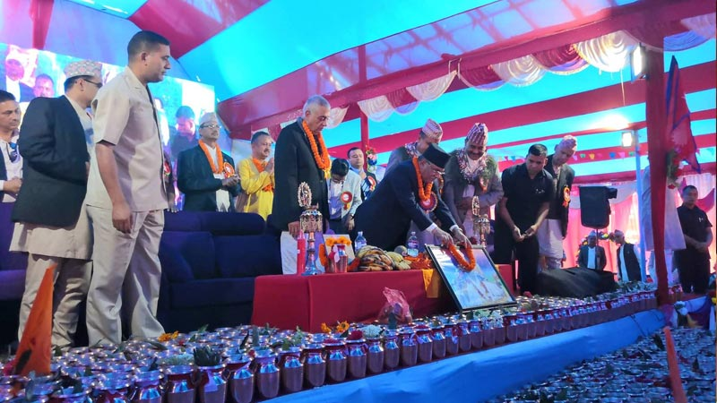 Chairman Prachanda Buddha Speech