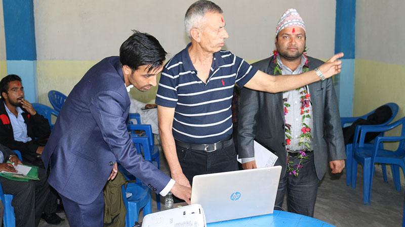 Prof Dr Bidya NAth Koirala Phedikhola Gaunpalika syanja