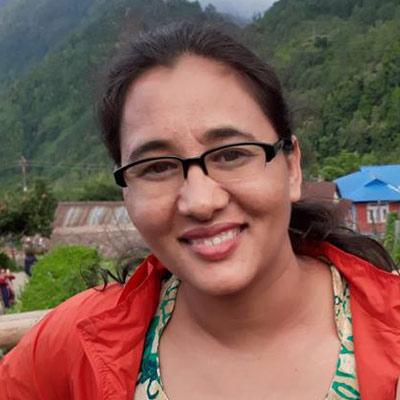 Journalist Sangita Khadka