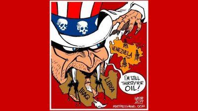 Venezuela Cartoon By Carlos Latuff