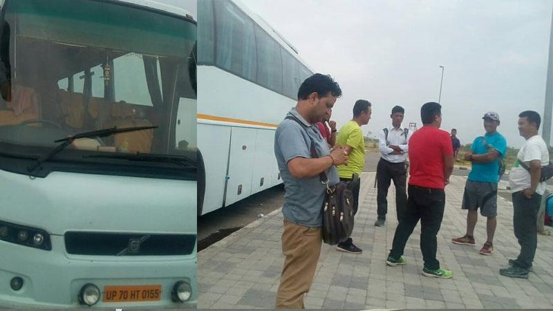 Manjushree Yatayat Delhi Bus