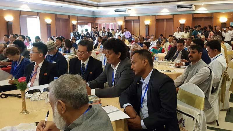 Journalist Bishnu Sapkota Jugal at 9th Asia Pacific Conference for Solidarity with Cuba