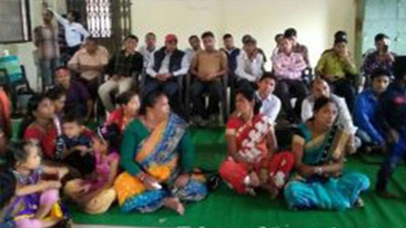 Bharat Pravash masal entering NCP