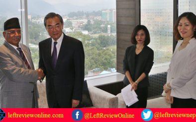 नेपाल-चीन सम्बन्ध, प्रचण्ड अभिव्यक्ति र अमेरिकी दूतावासको रूवाबासी