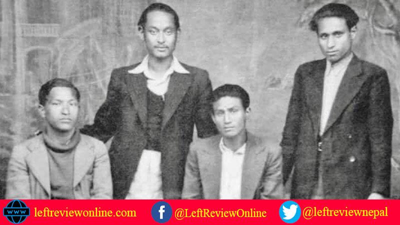 Pushpalal, Nar Bahadur Karmacharya, Niranjan Gobinda Baiddhya, Narayan Bilash Joshi