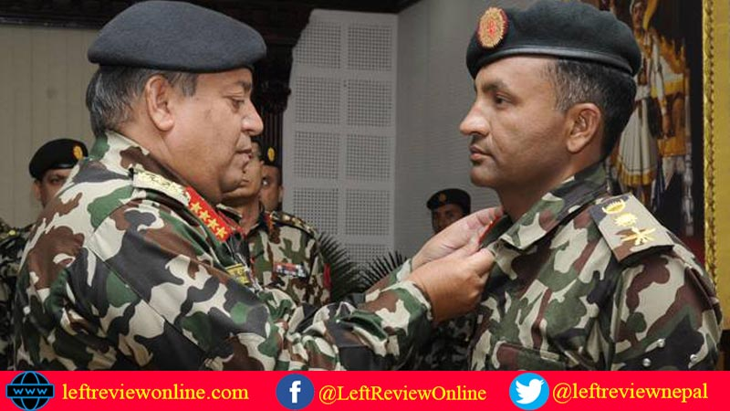 Yam Bahadur Adhikari, promoted to Brigadier General of Nepal Army