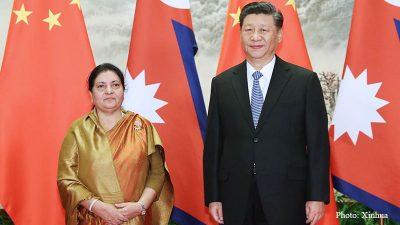 चीनको विद्यमान विश्व नीति र नेपाल–चीन सम्बन्धका चुनौति