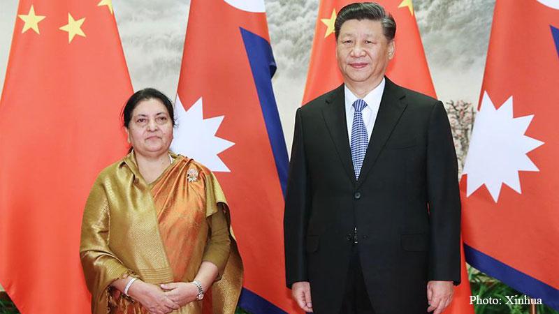 नेपाल र चीन बिचको मित्रता हिमाल जस्तै अग्लो र अटल