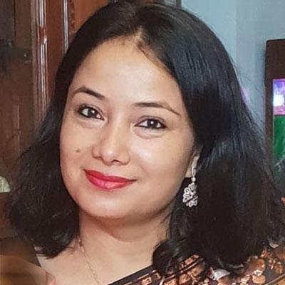 Ganga Dahal, Daughter of Prachanda