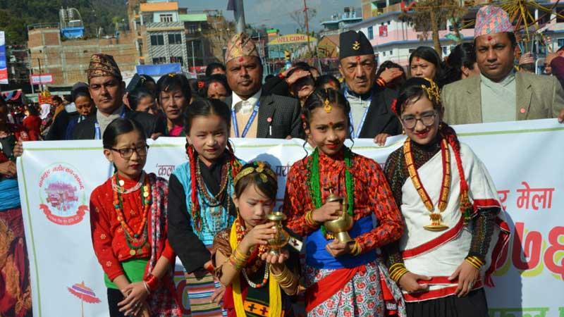 kshetri girls, Baglung mahotsab, Baglung festival