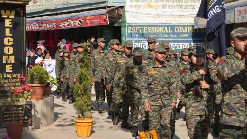 Military, Baglung mahotsab, Baglung festival