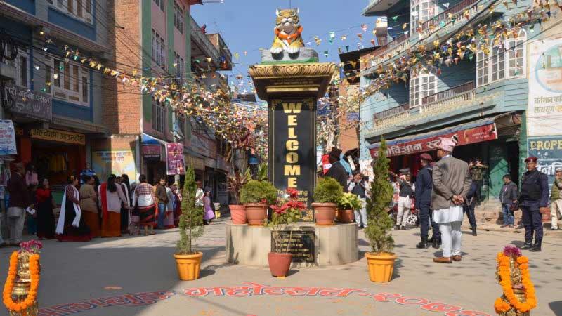 Tiger statue, Baglung mahotsab, Baglung festival