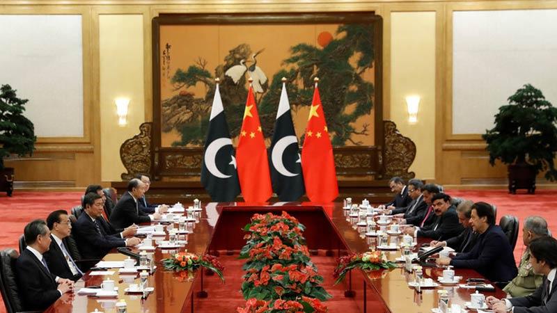 China, Pakistan meeting